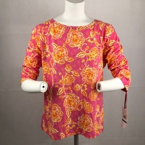 NWT Women's Ruby Rd top blouse sz Large